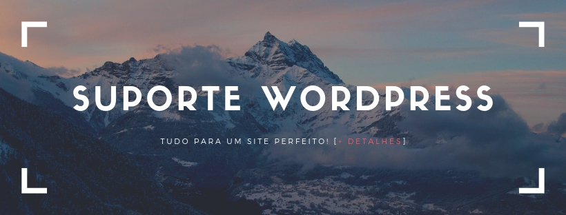 Suporte para WordPress
